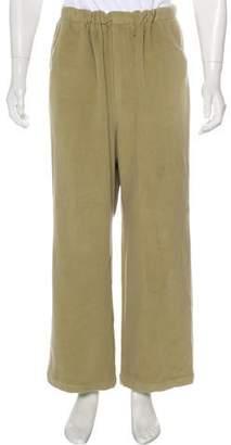 Balenciaga Wool & Cashmere Cropped Pants