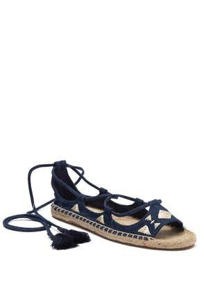 Soludos Embroidered Tie Up Sandal