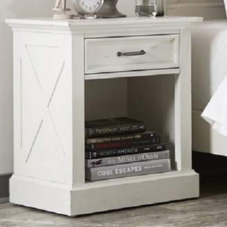Laurèl Foundry Modern Farmhouse Ryles 1 Drawer Nightstand