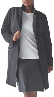 Blend of America Universal Standard Adena Stretch Wool Long Blazer
