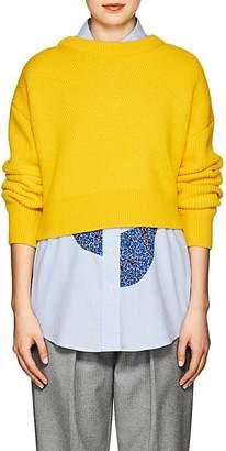 Cédric Charlier Women's Wool-Cashmere Asymmetric Cardigan