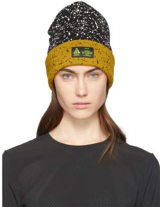 Nike Black and Yellow Errolson Hugh Edition ACG Beanie
