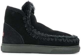 Mou shearling ankle boots