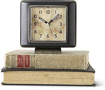 Linden Street® Square Bronze Clock