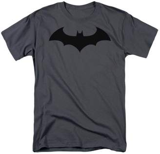 Batman T-Shirt Hush Logo Grey