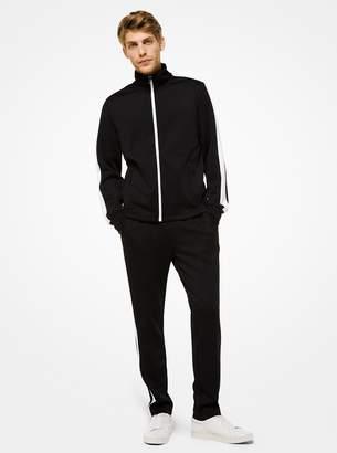 Michael Kors Contrast Stripe Scuba Track Jacket