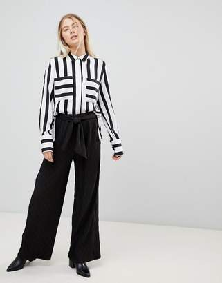 Minimum Moves By Wide Leg Trousers