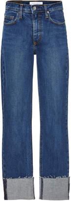 Nobody Denim True Cropped Mid-Rise Skinny Jeans