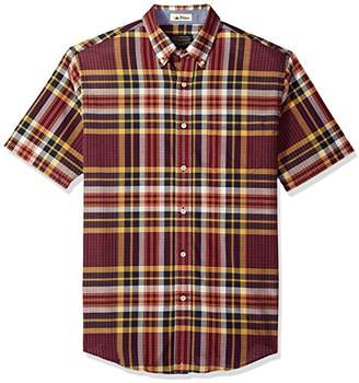 Pendleton Men's Short Sleeve Button Front Seaside Shirt