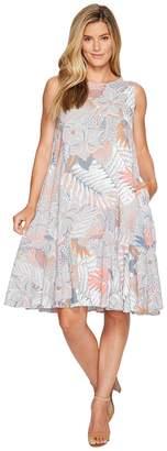 Fresh Produce Colored Pencils Trapeze Dress Women's Dress
