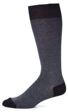 Saks Fifth Avenue COLLECTION Printed Socks