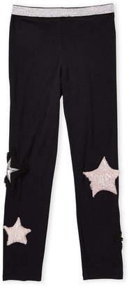 Baby Sara Girls 4-6x) Soft Knit Star Leggings