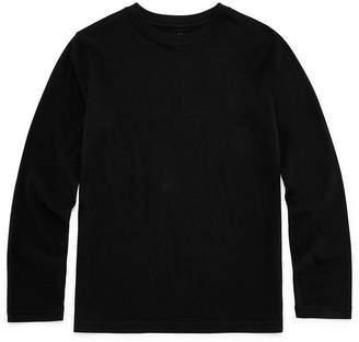 Arizona Long Sleeve Crew Neck T-Shirt Boys 4-20.
