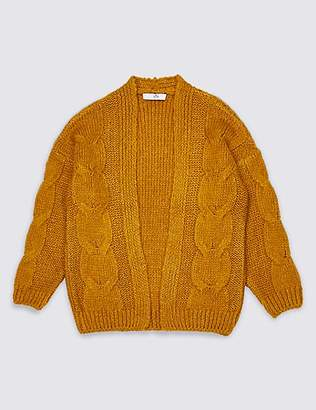 Marks and Spencer Cable Knit Cardigan (3-16 Years)