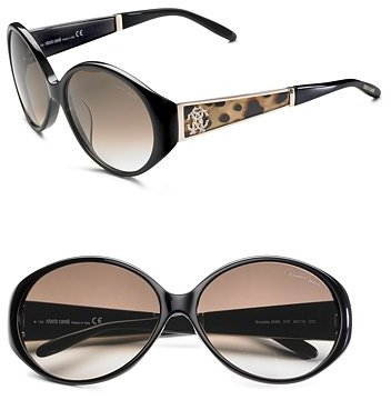 Roberto Cavalli Leopard Print Sunglasses