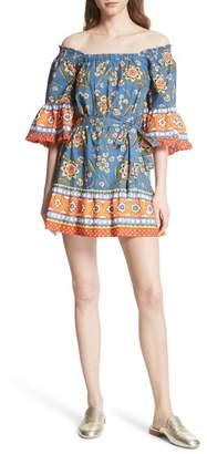 Joie Chloris Off the Shoulder Cotton Dress
