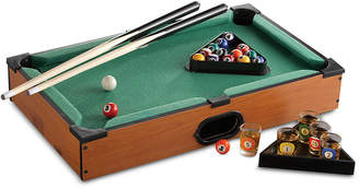 Pool' Jay Imports Pool Table Game with Shot Glasses