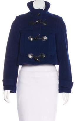 Burberry Wool Zip-Up Jacket