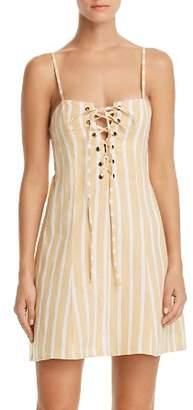 Faithfull The Brand Mama Mia Striped Corset Dress - 100% Exclusive