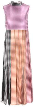 Christopher Kane Plaid cotton dress