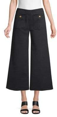 Love Moschino Flared Cropped Trousers