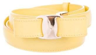 Salvatore Ferragamo Thin Vara Belt w/ Tags