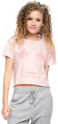 Juicy Couture Resting Beach Face Graphic Tee