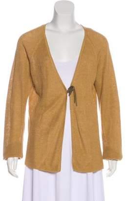 Lauren Ralph Lauren Linen Knit Cardigan