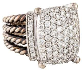 David Yurman Diamond Wheaton Ring