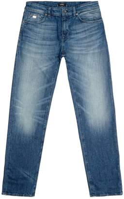 HUGO BOSS Straight Light Wash Jeans