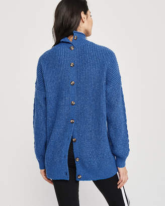 Abercrombie & Fitch Long Turtleneck Sweater