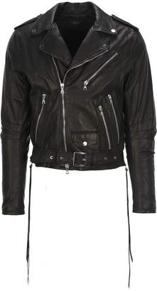 Amiri Light Weight Leather Biker