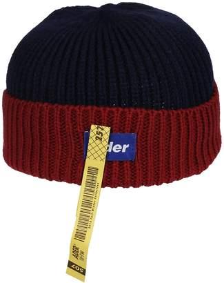 Ader Error Ribbed Knit Beanie