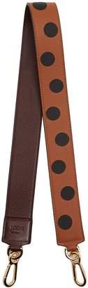 Loewe Polka-dot leather bag strap