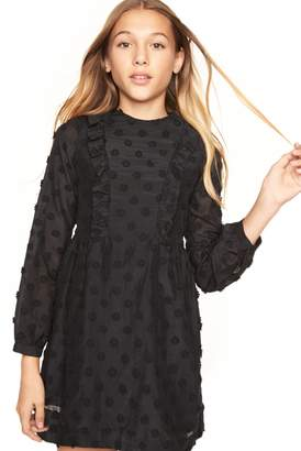 Milly MINIS EMBROIDERED DAISY GAUZE ADELINE DRESS