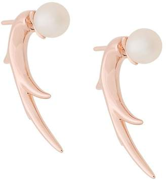 Shaun Leane Cherry Blossom Pearl Talon Earrings