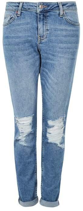 TopshopTopshop Moto blue ripped lucas jeans