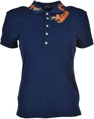 Polo Ralph Lauren Dragon Embroidered Polo Shirt