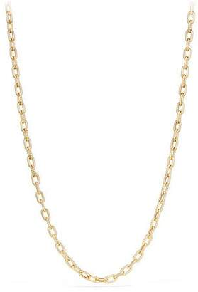 "David Yurman 18k Madison Bold Chain Link Necklace, 36""L"