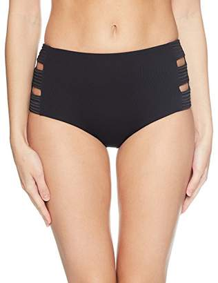 00cec4138d Seafolly Women s High Waisted Quilted Pant Bikini Bottoms