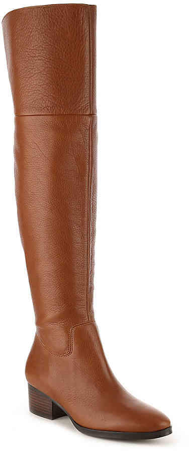 Women's Dallyce Over The Knee Boot -Cognac