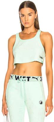 FENTY PUMA by Rihanna Terry Logo Crop Top