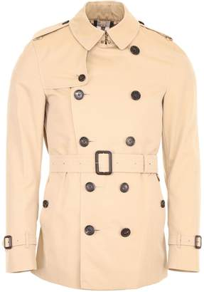 Burberry Short Sandringham Trench Coat