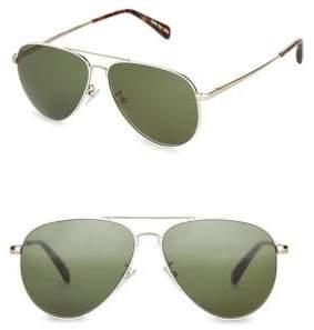Toms Maverick 60mm Aviator Sunglasses