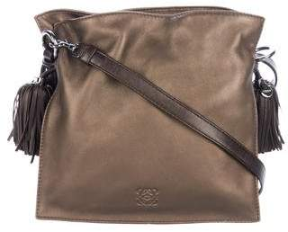 Loewe Flamenco Leather Crossbody Bag