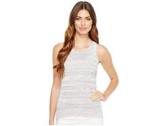 Calvin Klein Jeans Tank Top w/ High-Low Hem Women's Sleeveless