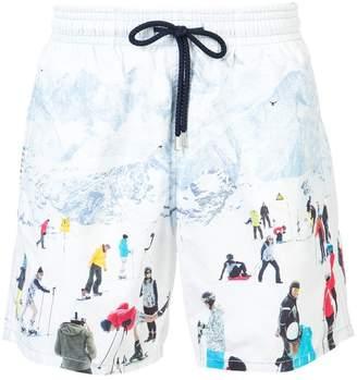 Vilebrequin ski motif swim shorts