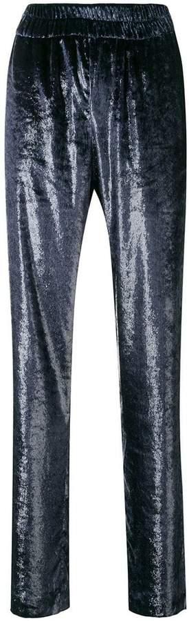 velvet lounge trousers