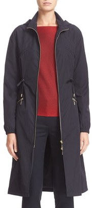 Women's Armani Jeans Hooded Anorak $570 thestylecure.com