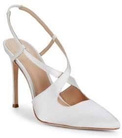 Pour La Victoire Cerry Satin Point Toe Pumps